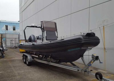 Hosking Trailer for Zodiac 7m